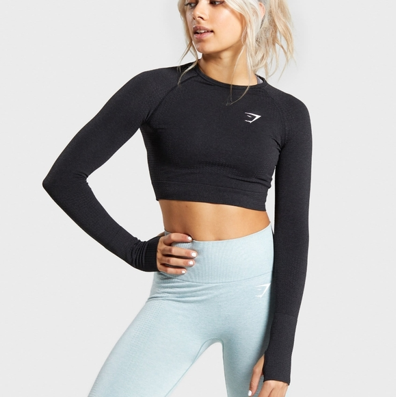 NWOT Gymshark VITAL SEAMLESS CROP TOP